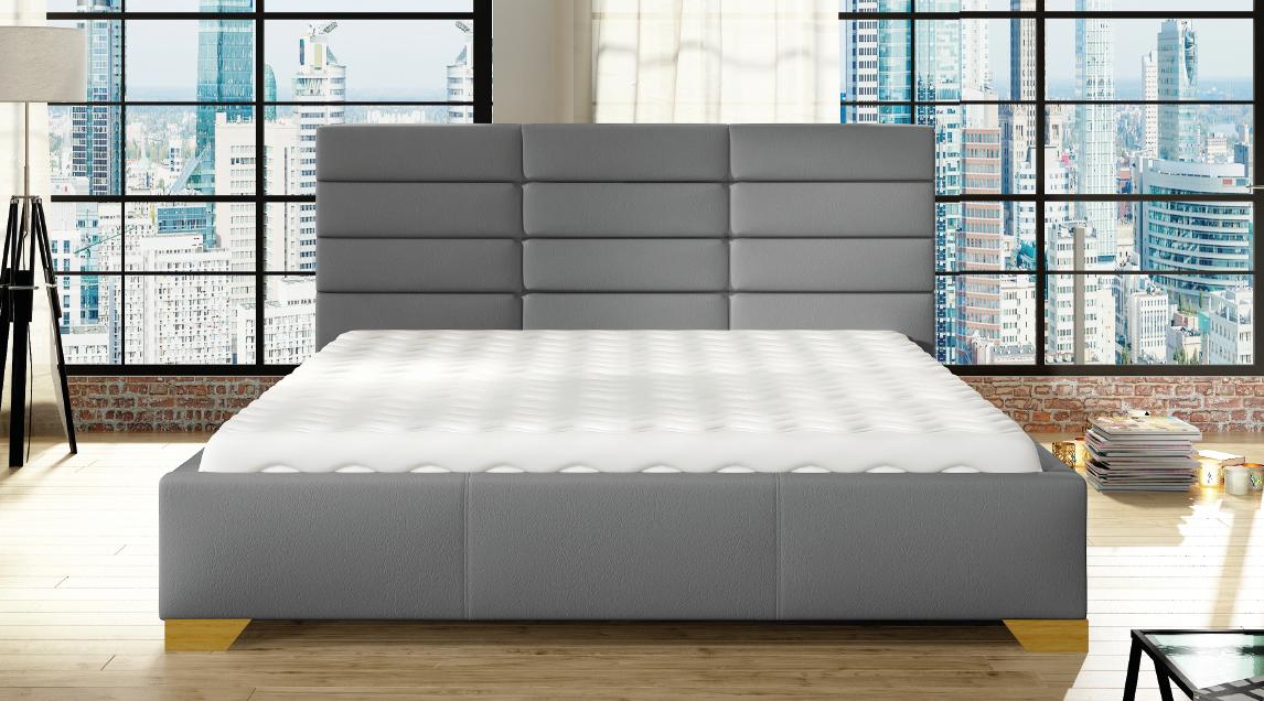 łóżko Mars 120 140 160 180 Z Pojemnikiem Stelaż Mega